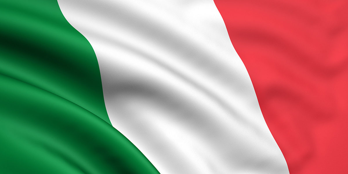 italy, flag, italian, national, moving, nation, state, wave, wind, 3d